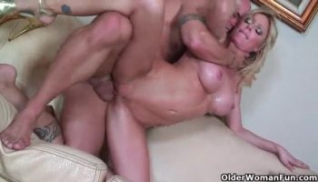 Brandi Love and Lia Lor hot FFM threesome in the bedroom